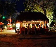 Image result for rustic beach bar Beach Bars, Rum, Gazebo, Outdoor Structures, Rustic, Image, Country Primitive, Kiosk, Pavilion