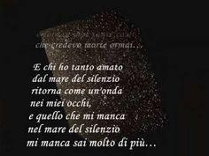 Andrea Bocelli La Voce del Silenzio; lyrics