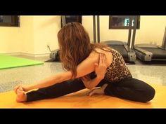 体が硬い男性でも出来る肩甲骨周りを柔らかくする裏技ストレッチ方法(シェイクヨガ泉栄子先生) #Eiko - YouTube