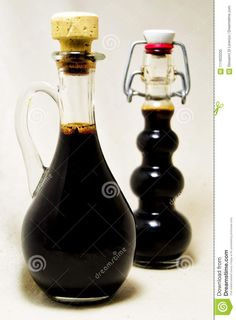 Soft focus of traditional balsamic vinegard of Modena, produced from cooked grape. Photo about special, healthy, drink, modena, taste, ingredient, vinegar, eating, sweet - 111833335