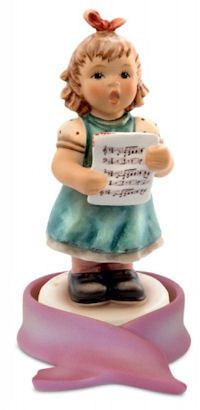 MI Hummel Song of Hope Hummel Figurine 2330 Goebel Figurines, Precious Moments Figurines, Madame Alexander Dolls, Kids Playing, How To Memorize Things, Disney, Music Stuff, Fun Stuff, Market Bag