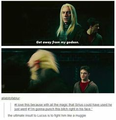 There are so many amazing, clever, and dumb Harry Potter memes out there, we thought we'd round up some of the best ones to make you LOL Harry Potter Thema, Harry Potter Jokes, Harry Potter Fandom, Harry Potter World, Harry Potter Funny Tumblr, Hogwarts, Slytherin, Draco Malfoy, Severus Snape