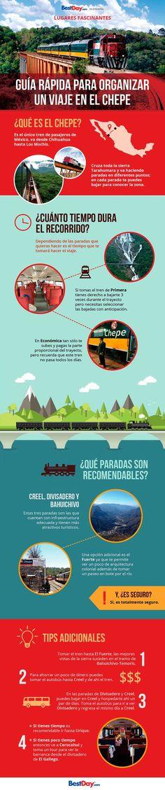 guia rápida para viajar en El Chepe