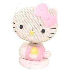 Japanese Sanrio Hello Kitty Die Cut Electric Fan