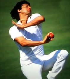 Imran Khan: Among the most complete cricketers of the modern era. While his captaincy and batting took more prominence in the latter part of his career, it was his bowling where he made his mark. In his first decade, he became one of the premier fast bowlers. Rhythmic run up on an angle, high jump, side on action and express pace, he was joy to watch. I saw him bowl in Pakistan's Caribbean tour of 1977, and his application, style and aggression made a lasting impression.