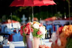 ...raindrops on roses (themed wedding)