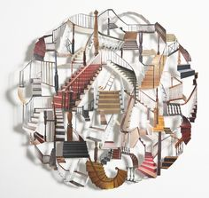 the art of Kirsten Kindler: the art of Kirsten Kindler - magazine cut-outs!