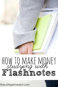 Would you like to get paid for something you already do? Find out how you can make money as a college student in our flashnotes review.