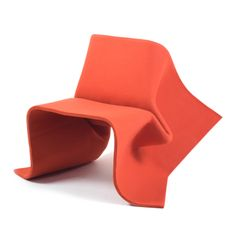 Foldchair // Limited Edition in Felt By Olivier Gregoire