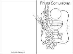 Risultati immagini per immagini inviti comunione stampare