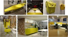 Hot Color Trend for Commercial Interiors:  YELLOW