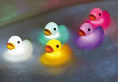 Duck Bath Light // have these duckies, love them! #product_design