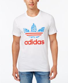 adidas Originals Men's Logo T-Shirt | macys.com