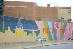 Scranton Pa the historic coal mining and industry electric city of Northeastern Pennsylvania.