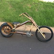 Imagem relacionada Bike Chopper, Lowrider Bicycle, Wood Bike, Electric Tricycle, Concept Motorcycles, Push Bikes, Cruiser Bicycle, Bike Frame, Mini Bike