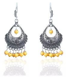 Waama Jewels Multicolor Drop Earrings