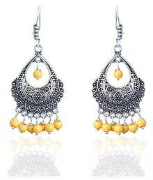 Waama Jewels Multicolor Drop Earrings