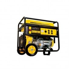 Ridgid 5 700 watt gasoline powered portable generator with for Ridgid 6800 watt generator with yamaha engine