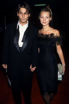 So beautiful. So glamorous. Their breakup in 1998 left Moss crying for years and the rest of us reeling over all the fabulously stylish photo ops we would never have the chance to see.   - HarpersBAZAAR.com