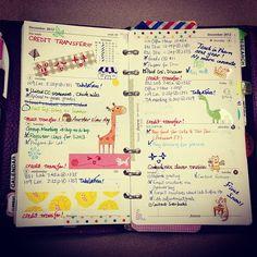 #Filofax planner journal