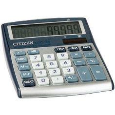 Asztali számológép 10 számjegyes, döntött kijelzővel Citizen CDC-100 - Számológépek Ft Ár 2,799