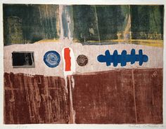 Michael Rothenstein Art Studios, Printmaking, Etchings, Artist, Prints, Pattern, Stamps, Painting, Color