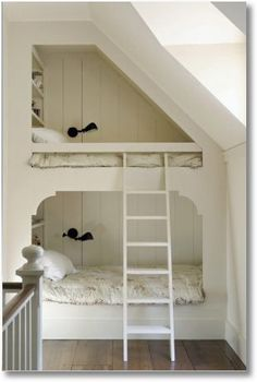 loving the built in bunk beds