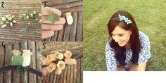Tiara de flores   http://ricademarre.com.br/?p=4773