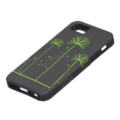 Cute Retro Green Spring Trees iPhone 5 Cover