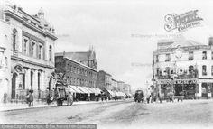 New Cross, The Marquis Of Granby And The Weslyan Church c.1900, from Francis Frith