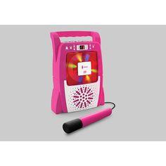 The Singing Machine Portable CD+G Karaoke Lightshow