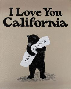 "3 Fish Studios — ""I Love You California"" Print"