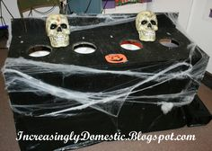 Halloween Festival Ideas | Increasingly Domestic: Carnival Booth: Fear Factor