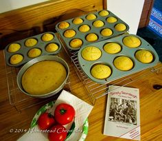 Ultimate Sourdough Cornbread Muffins - moist, fluffy, and sweet, but not too sweet -- and turns anything you serve with it into the perfect comfort food.