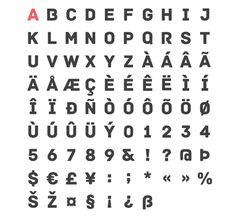 Useful design fonts. WDL