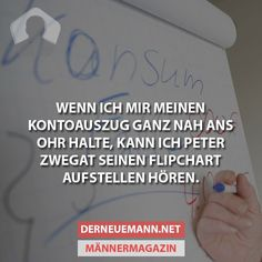 Der neue Mann - Das Männermagazin - #das #Der #Mann #Männermagazin #neue Wtf Funny, Hilarious, Me Quotes, Funny Quotes, Lol So True, Crazy Life, Can't Stop Laughing, Good Jokes, Life Humor