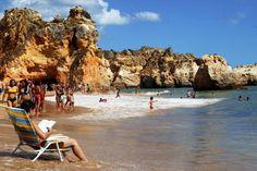 Portimao - Portugal Portugal, Algarve, Beach Trip, Portuguese, Beaches, Landscapes, River, Sea, The Beach
