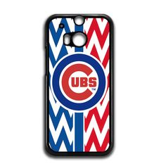 Chicago Cubs Chevron For HTC One M8 Case