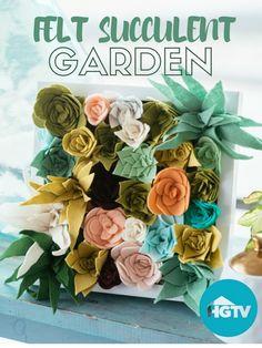 Succulent Diy Felt New Ideas Felt Crafts Patterns, Felt Crafts Diy, Felt Diy, Fabric Crafts, Felt Roses, Felt Flowers, Diy Flowers, Fabric Flowers, Felt Succulents
