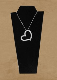 "Heart Pendant w/18"" Chain"