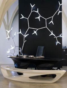 Super lækkert modulært lampesystem af Daniel Becker