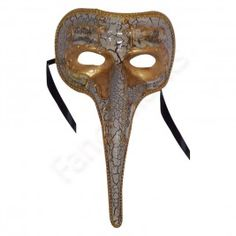 Long Nose White, Marbled Mask -