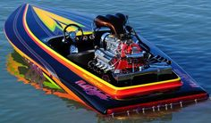August Hot Boat of the Month entry. Fast Boats, Cool Boats, Speed Boats, Power Boats, Drag Boat Racing, High Performance Boat, K98, Flat Bottom Boats, Ski Boats