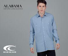 ALABAMA SHIRT  100% Cotone Oxford #Kokse #manshirt #shoppingonline #shirt #fashion