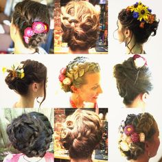 How To Hair - DIY Hair Resource From How To Hair Girl   A season of HTHG Brides, and bridal party Do's and Don'ts.