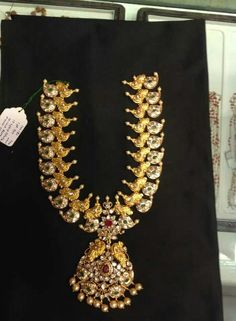 Stunning pacchi necklace from shantilal premraj jain jewellers,Hyderabad