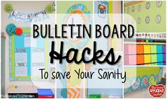 Bulletin Board Hacks to Save Your Sanity