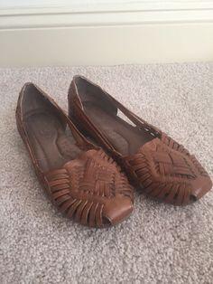 4019e189cf35 Ladies Natural Soul Grandeur Huarache Shoe Saddle Size 7  fashion  clothing   shoes