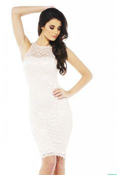 Darling Lace Midi Dress $46 shopmodmint.com