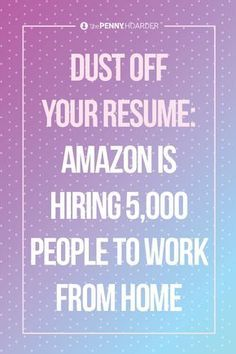Amazon jobs are adding up, as the company announces 5,000 part-time work-from home gigs. It's all part of the retail giant's plan to hire thousands of workers over the coming year.